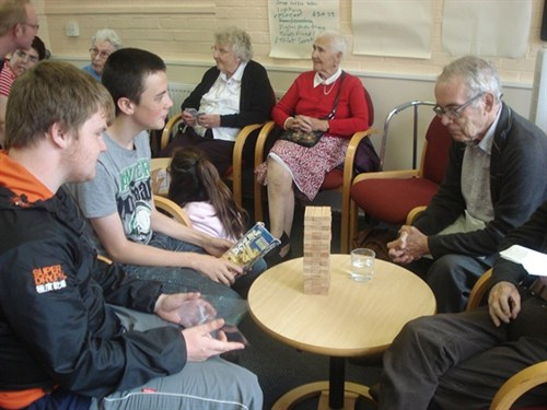 East Herts NCS Summer 2015 Visit To Help The Aged 2 For Web
