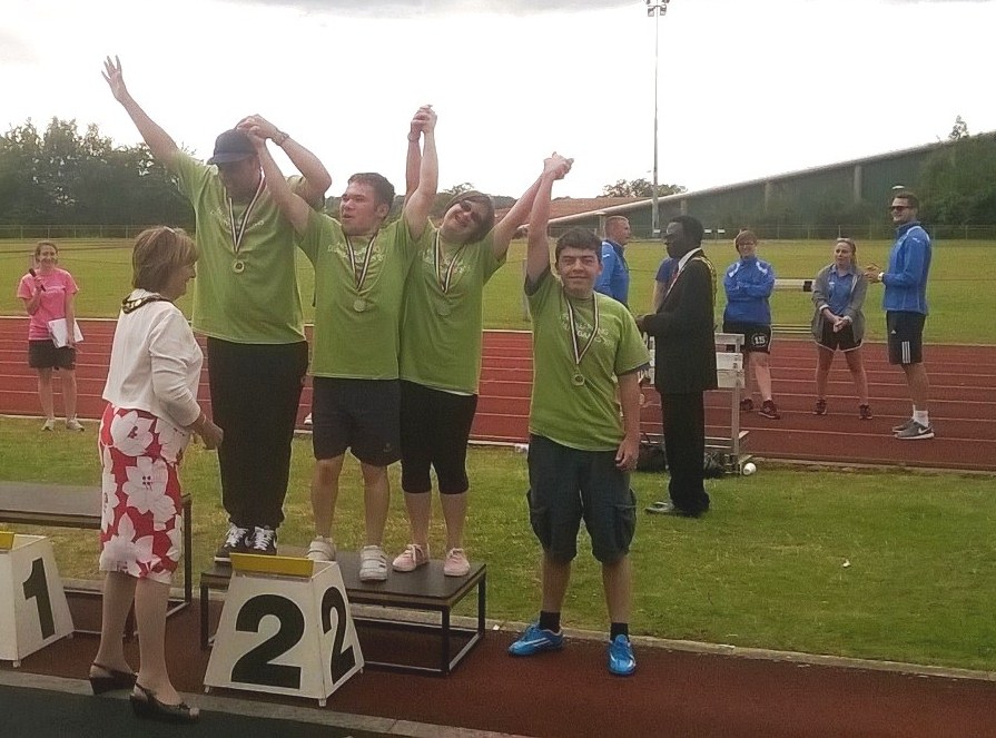 Young people hugely proud at Hertfordshire Learning Disability Games