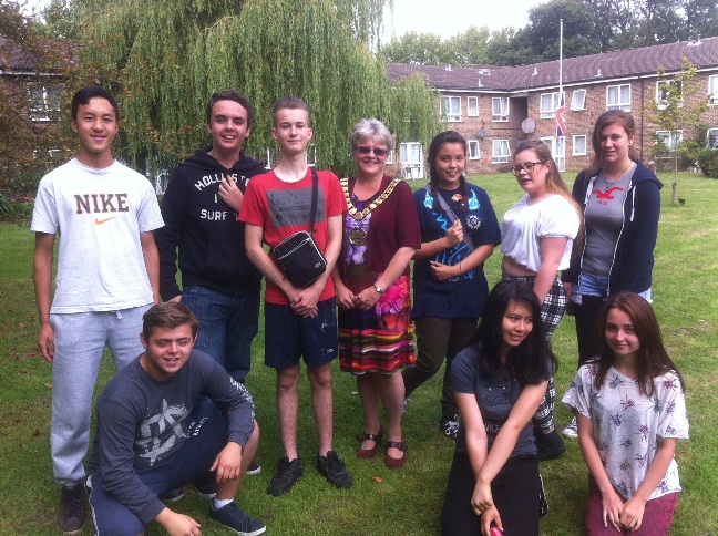 Local community in Welwyn Hatfield benefits from young people's actions