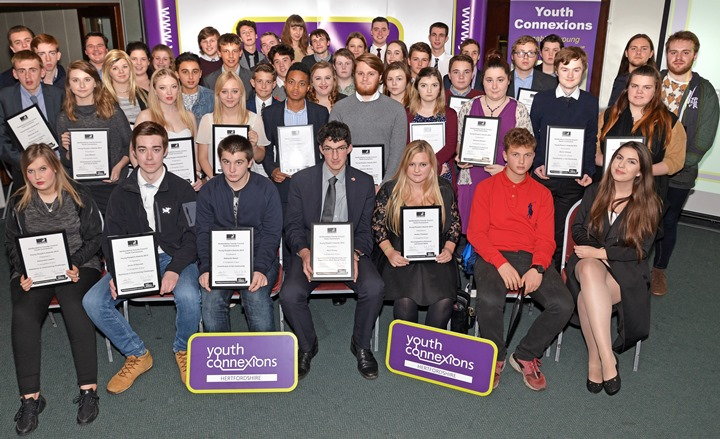 """Encouraging, inspiring, endearing!""  Celebrating the achievements of Hertfordshire's Young People"