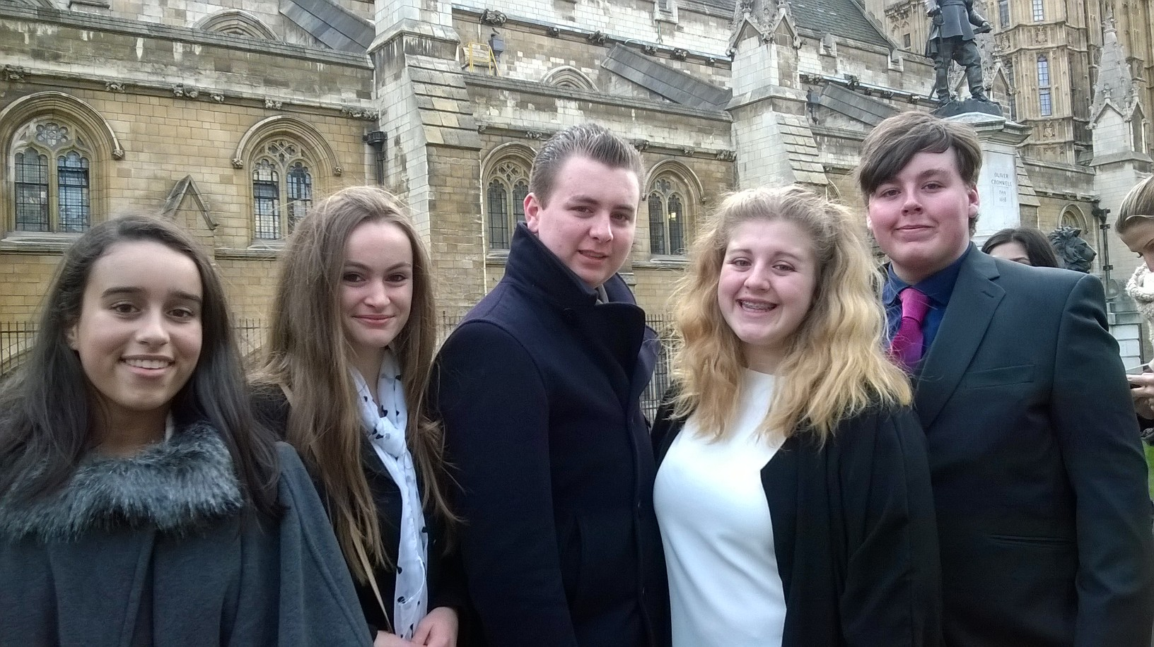 Hertfordshire Member of Youth Parliament makes speech at annual debating session in House of Commons