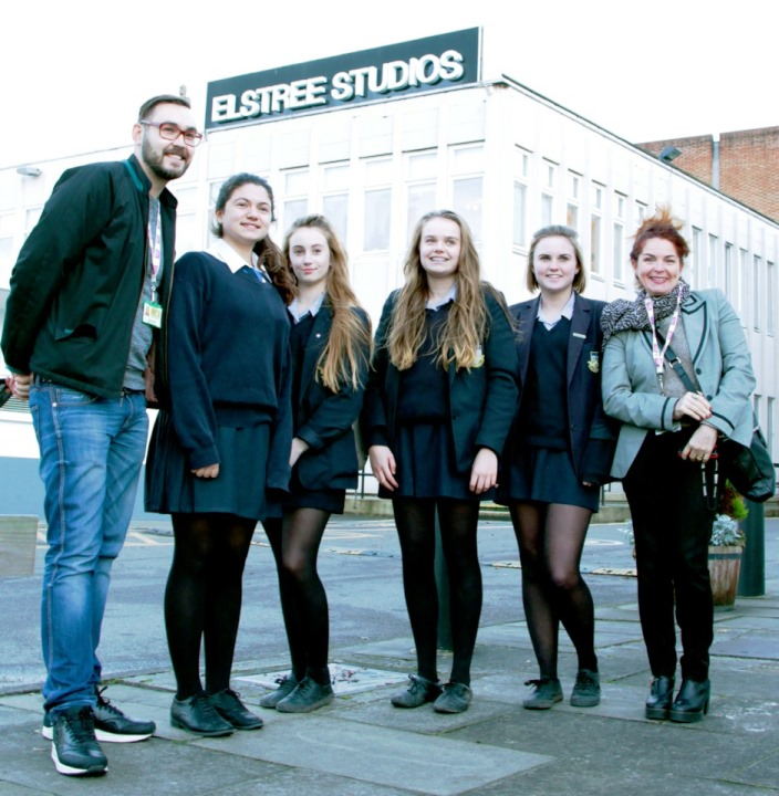 Young Film-makers from Chorleywood get inspiration at Elstree Studios