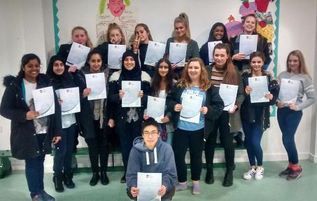 South Oxhey YP With Their First Aid Certificates Sized