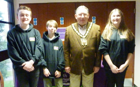 Members of North Herts Youth Council held conference to raise awareness of mental health issues