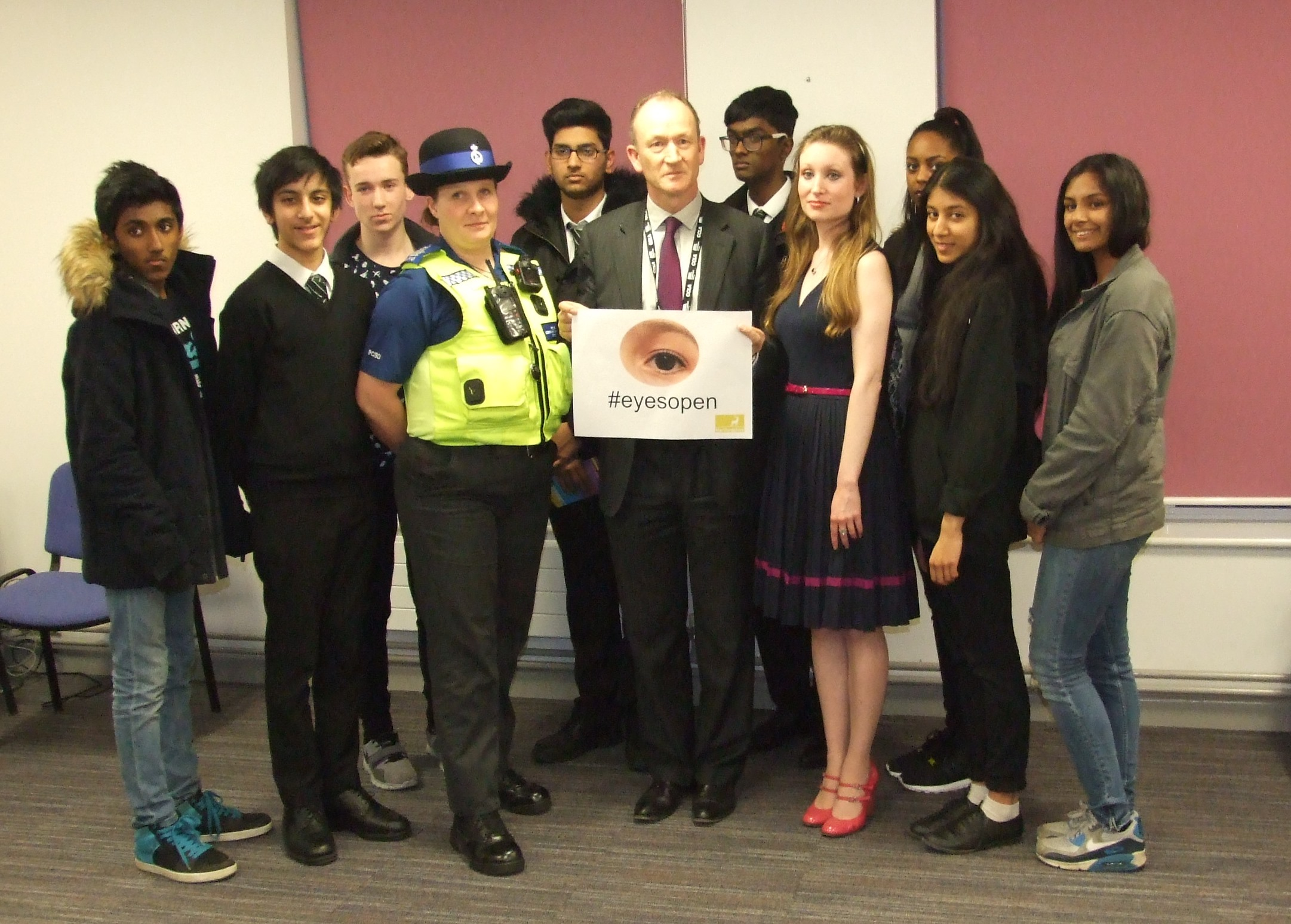 Youth Connexions hosts launch of 'Eyes Open' Campaign at YouthPoint in Watford