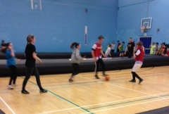 Youth Health Champions held free 'all comers' street soccer tournament in St Albans during half term