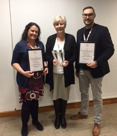 Congratulations to Youth Connexions colleagues recognised as finalists and winners of Children's Services Awards