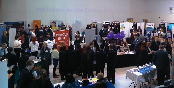 Francis Combe Academy students find opportunity to meet employers 'inspiring'