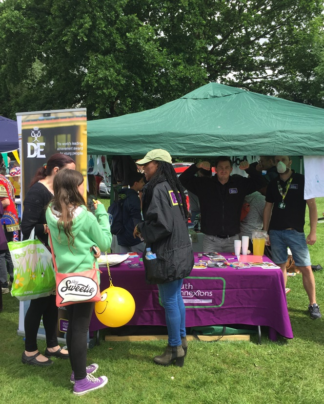 Youth Connexions showcases projects at Potters Bar Carnival