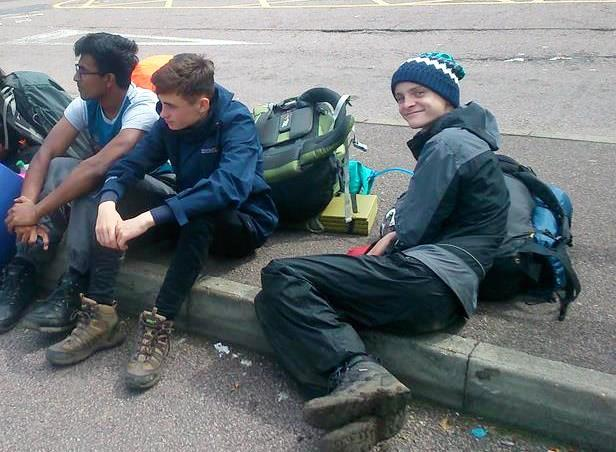 Young People from Watford and Three Rivers complete their Bronze DofE Practice Expedition