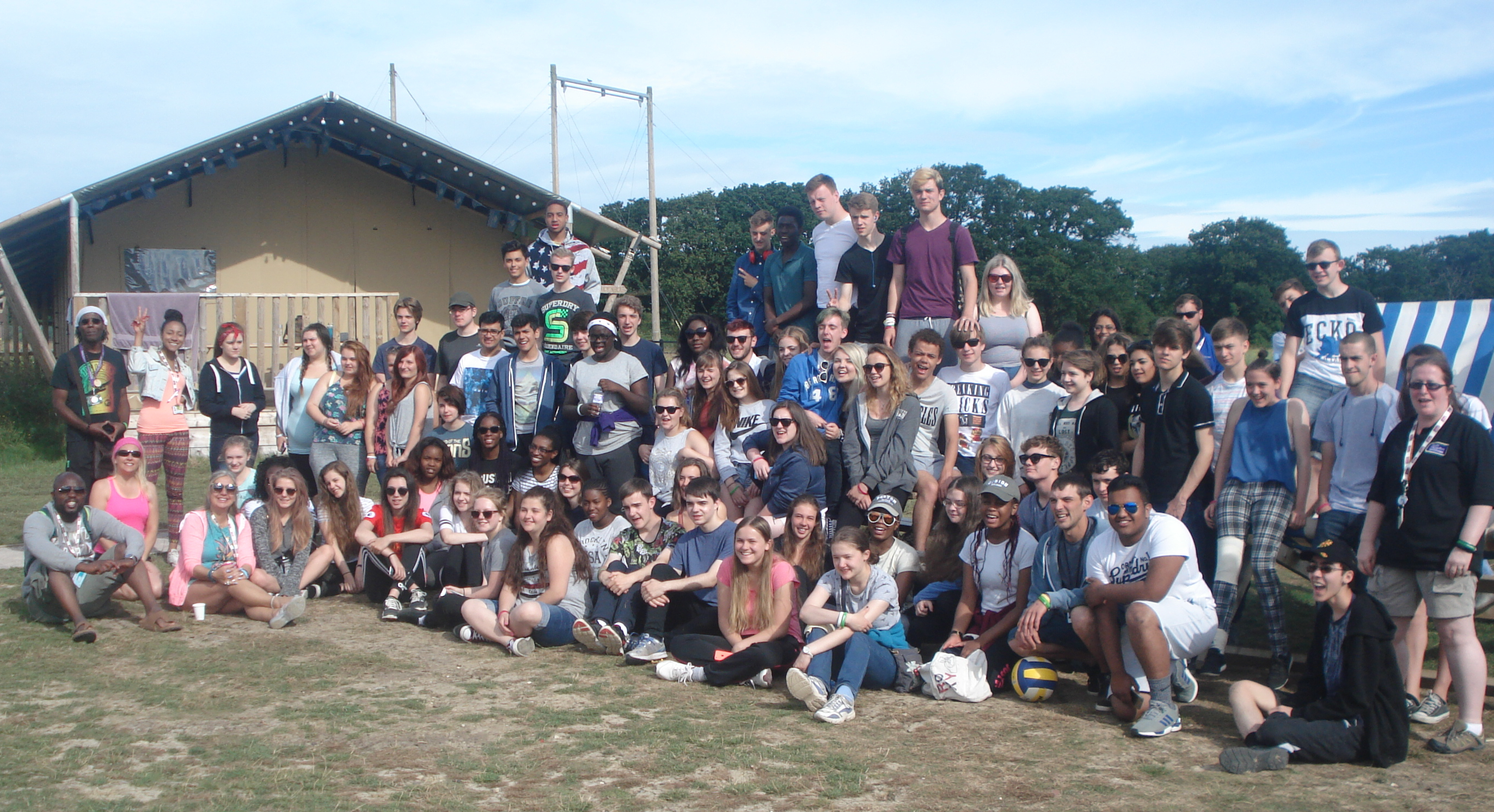 Young people from East Herts get out of their 'comfort zone' during their summer holidays