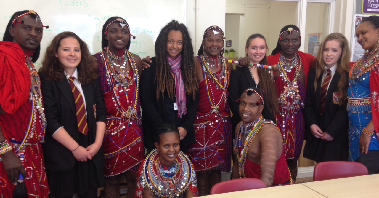 Young health champions in Tring inspired by Maasai warriors to fight for the health of their peers
