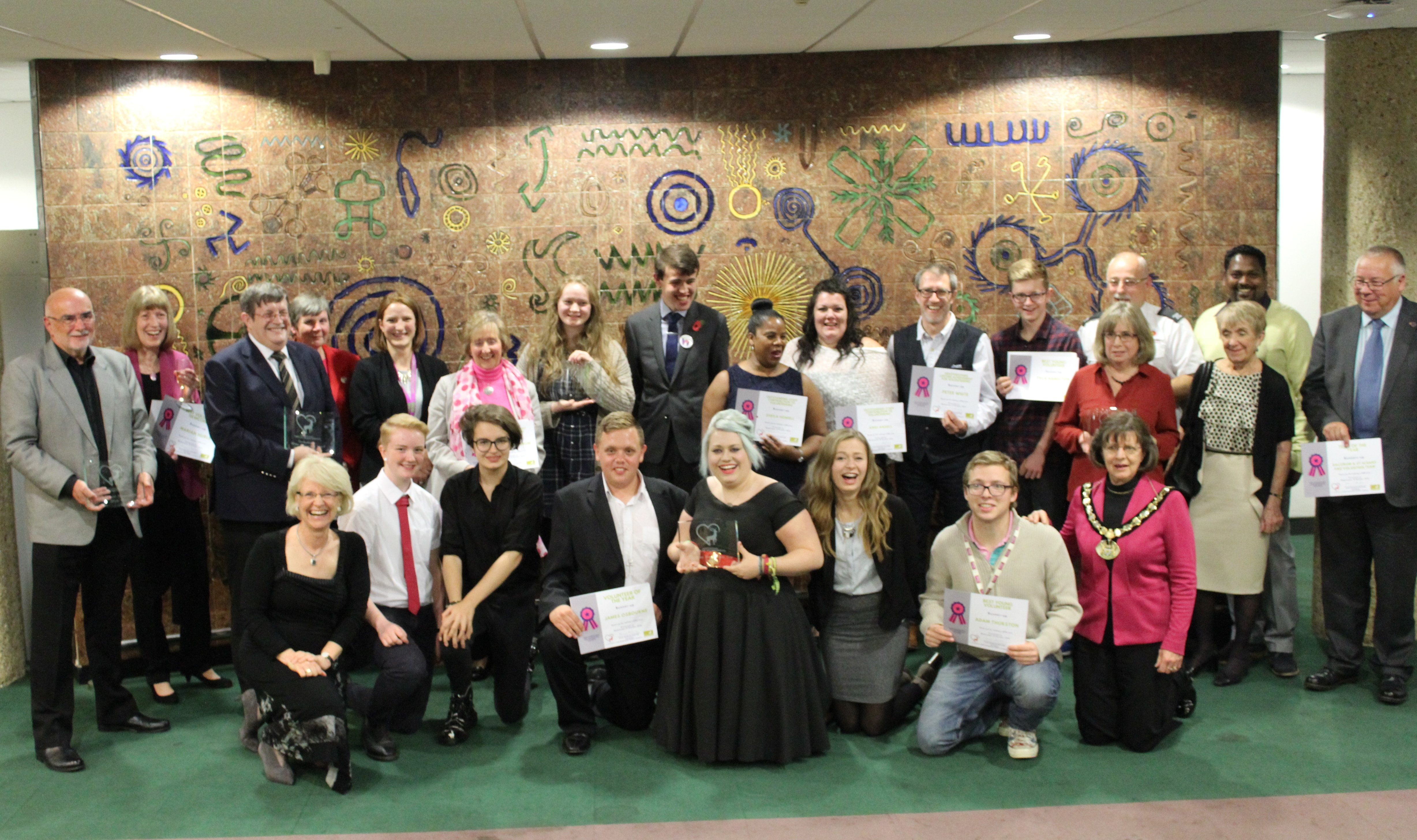 Young volunteers commended for their commitment to making a difference in Hertfordshire