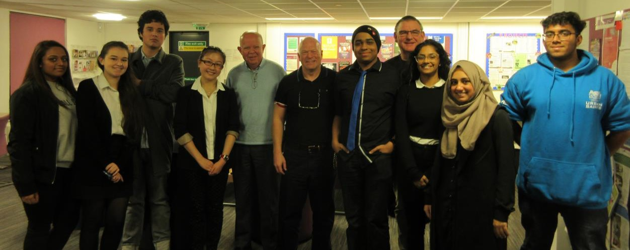 Watford County Councillors visit Youth Council during Parliament Week 2016