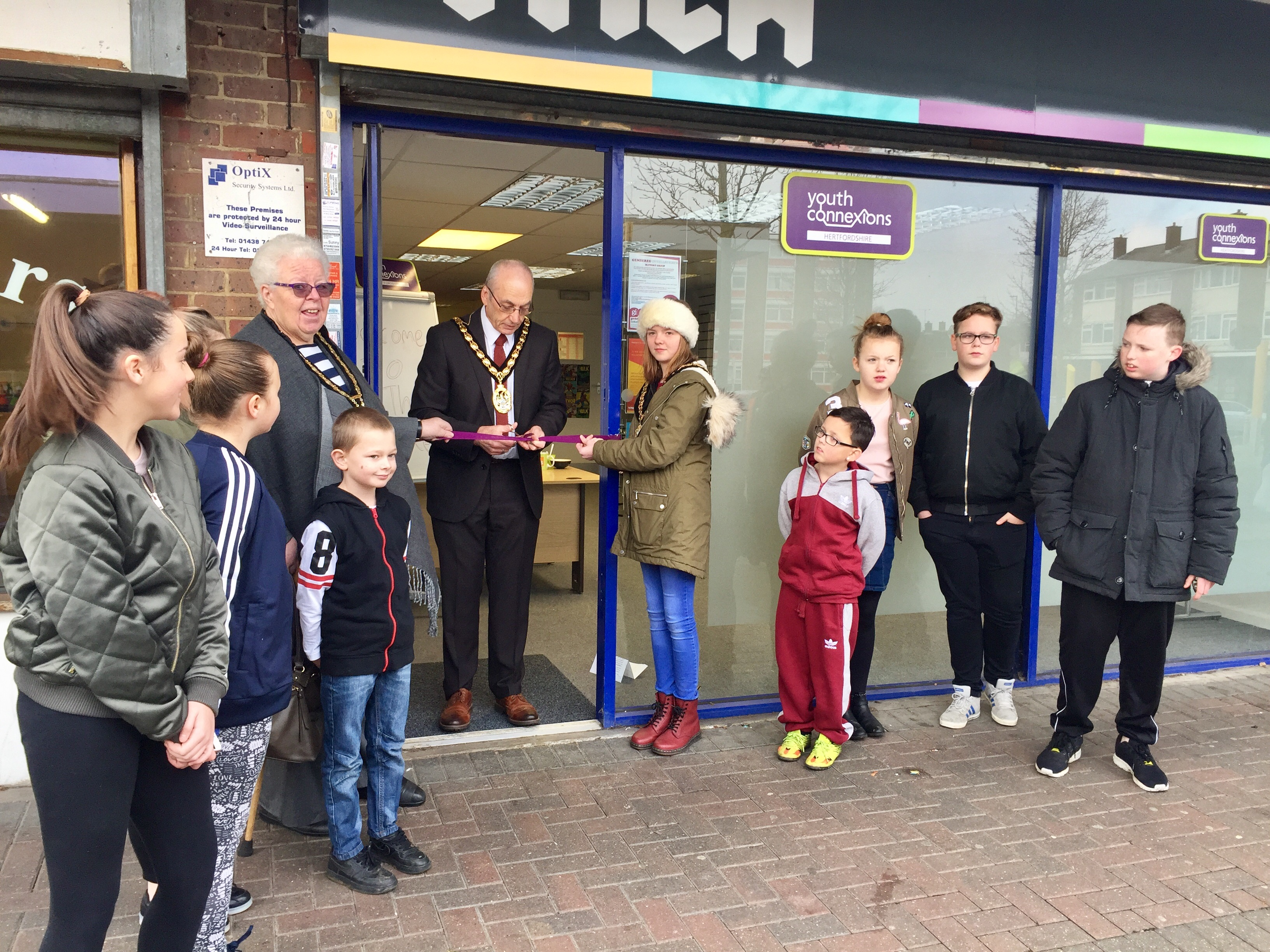 The Hyde youth project opens its doors to young people in Shephall