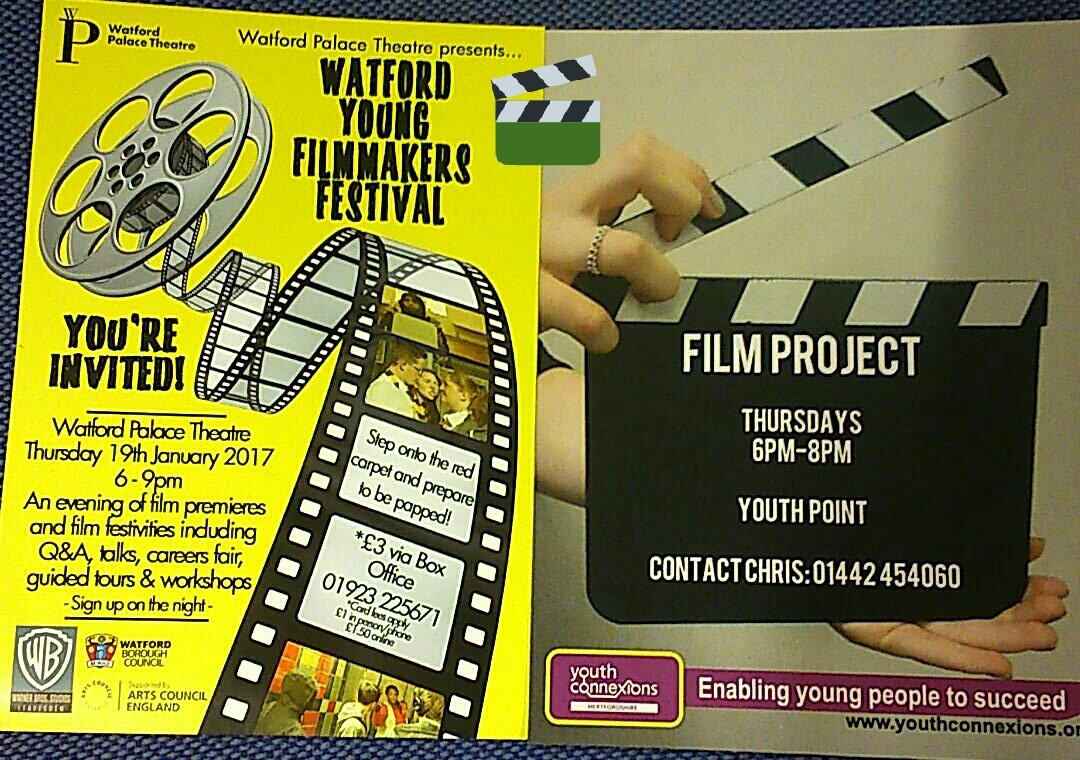 Lights, camera, action for young film makers in Watford