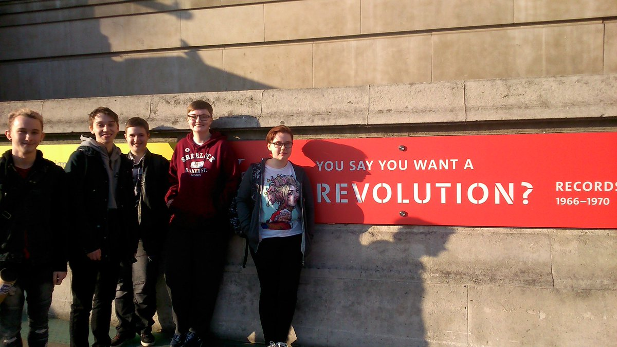 Watford young people enjoy a revolutionary visit