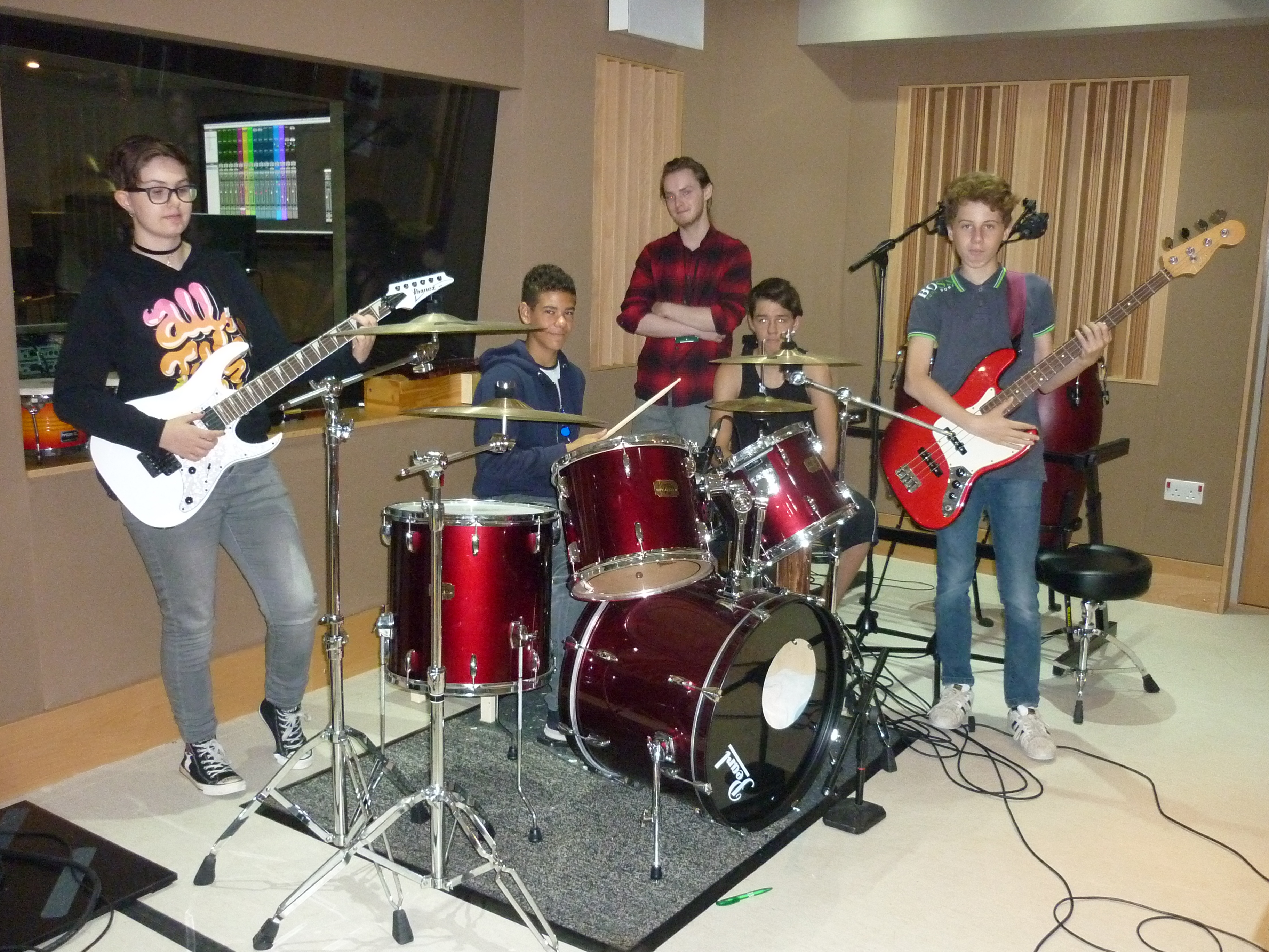 YouthPoint Summer Music Project a hit with young people!