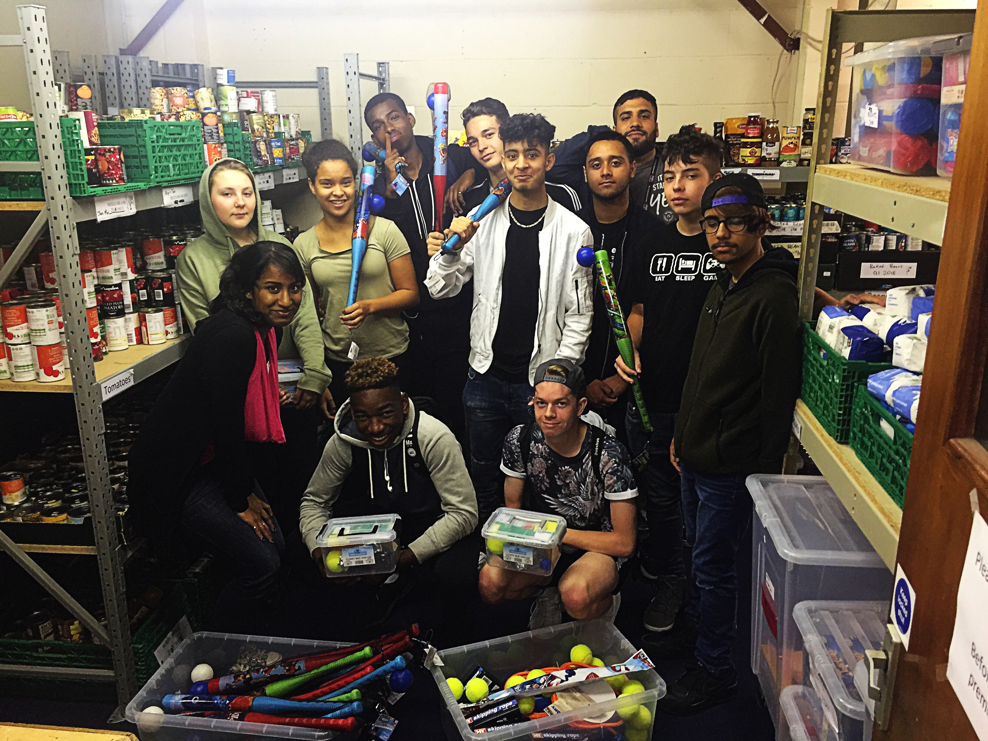 Young people from Watford demonstrate their community spirit during their summer holidays