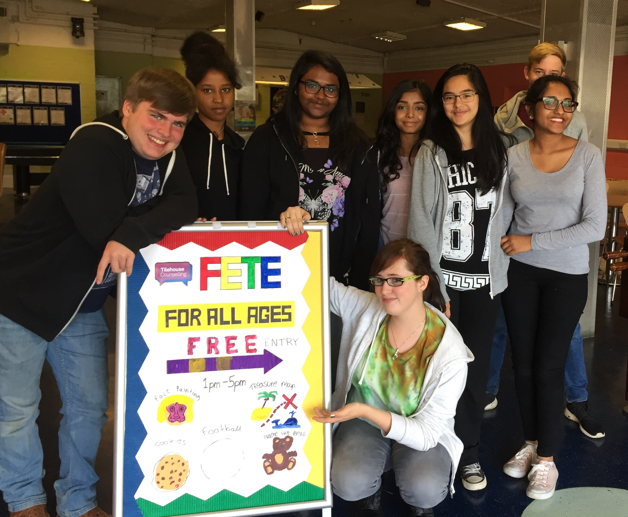 Young people from Stevenage demonstrate their community spirit during their summer holidays