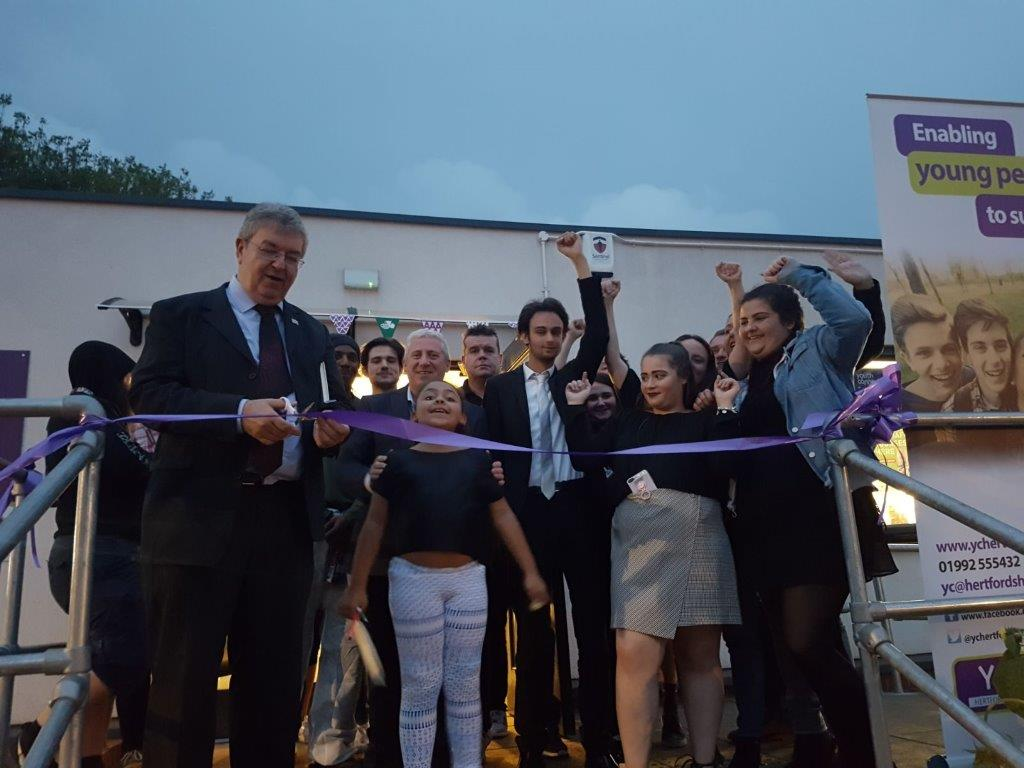 YC Hertfordshire unveils Ware's new young people's centre