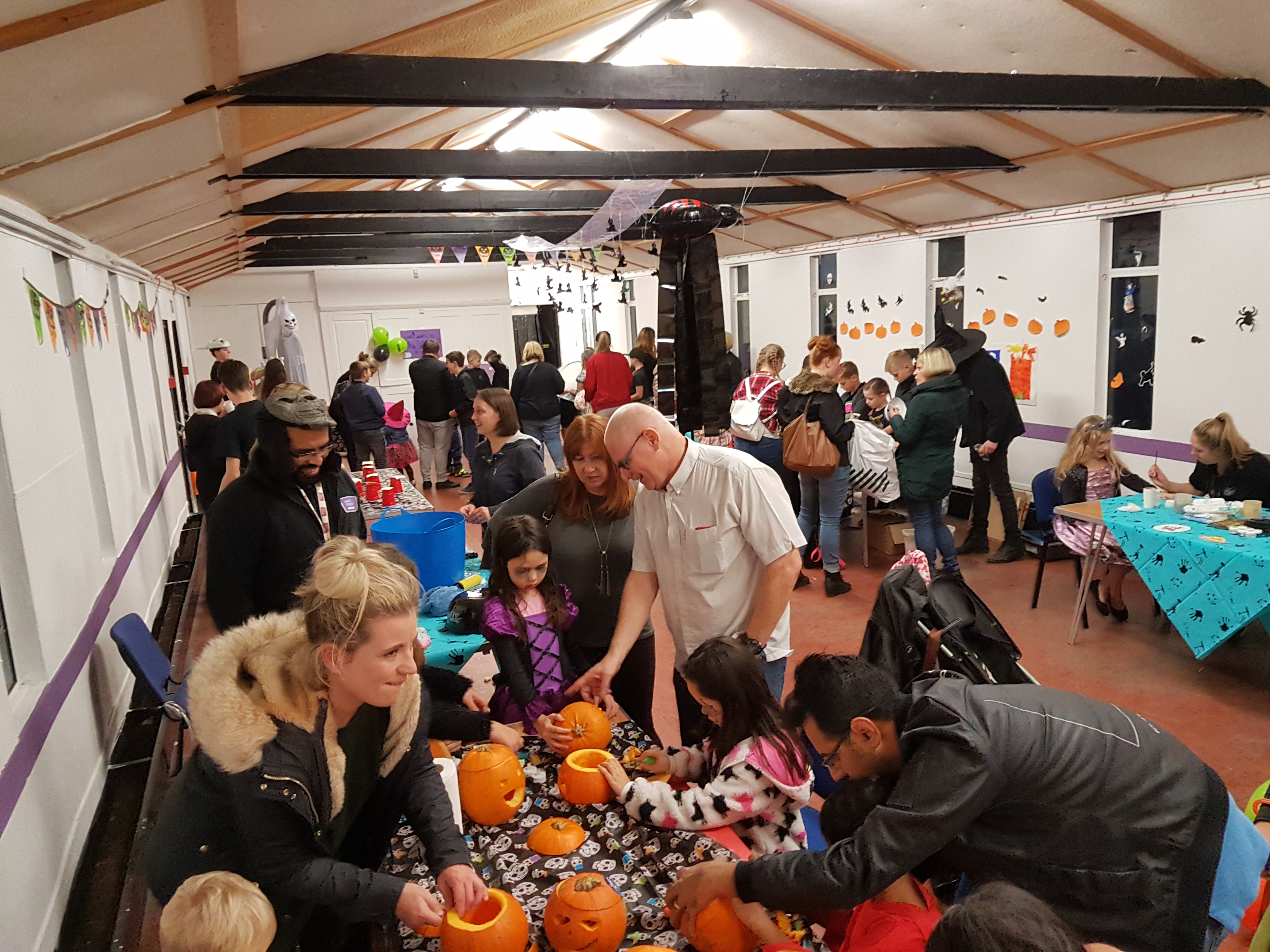 Halloween Charity Fundraiser at West Hyde Youth Centre