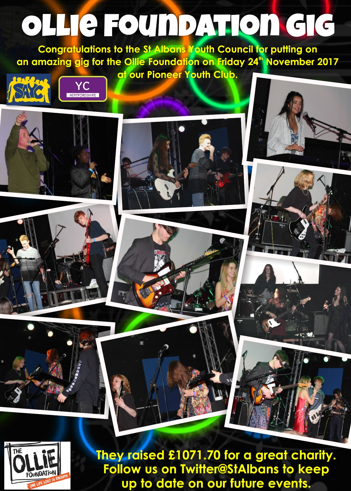 Young people make music and raise money for local charity