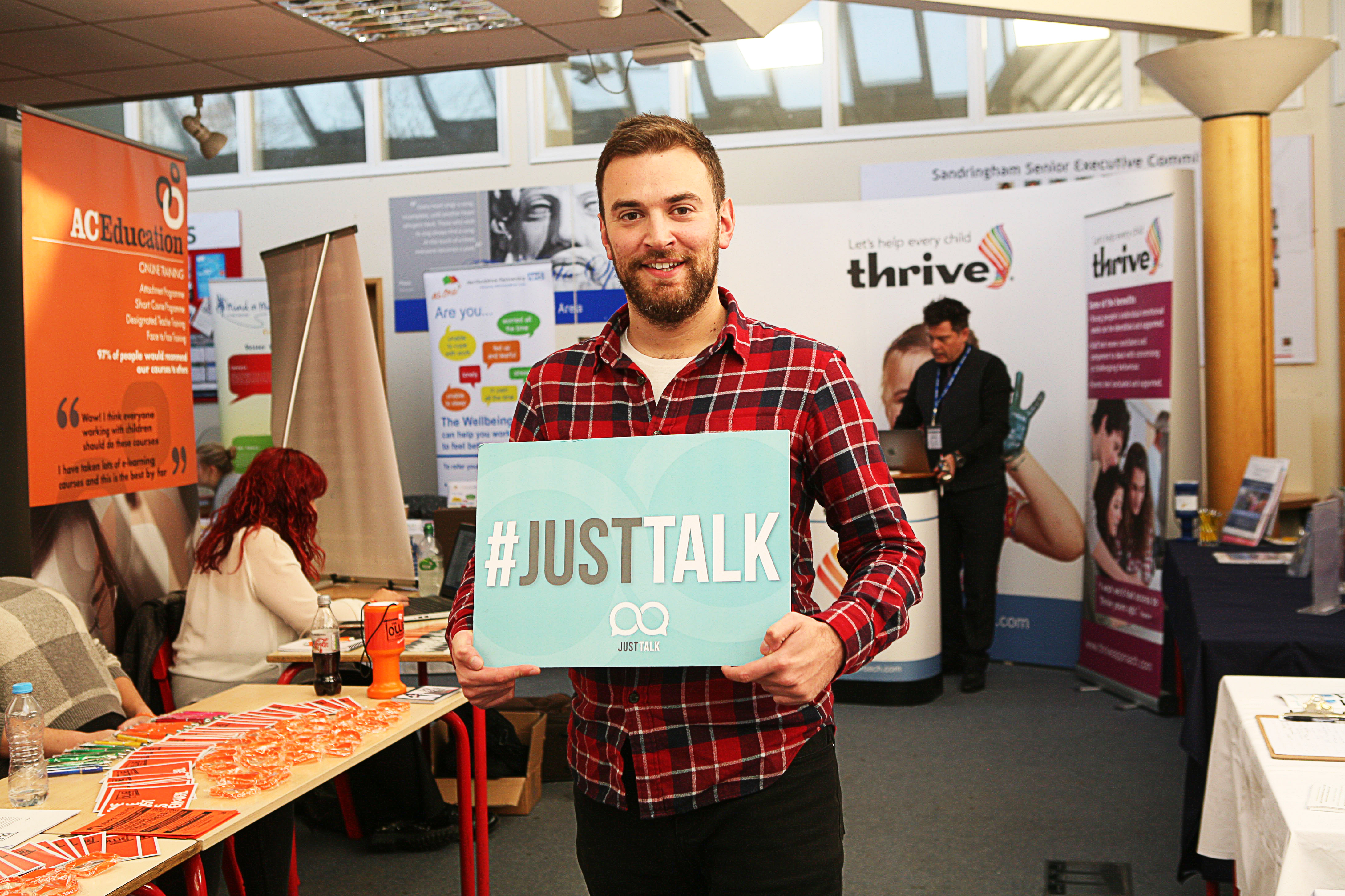 YC Hertfordshire supports 'Just Talk' mental health campaign