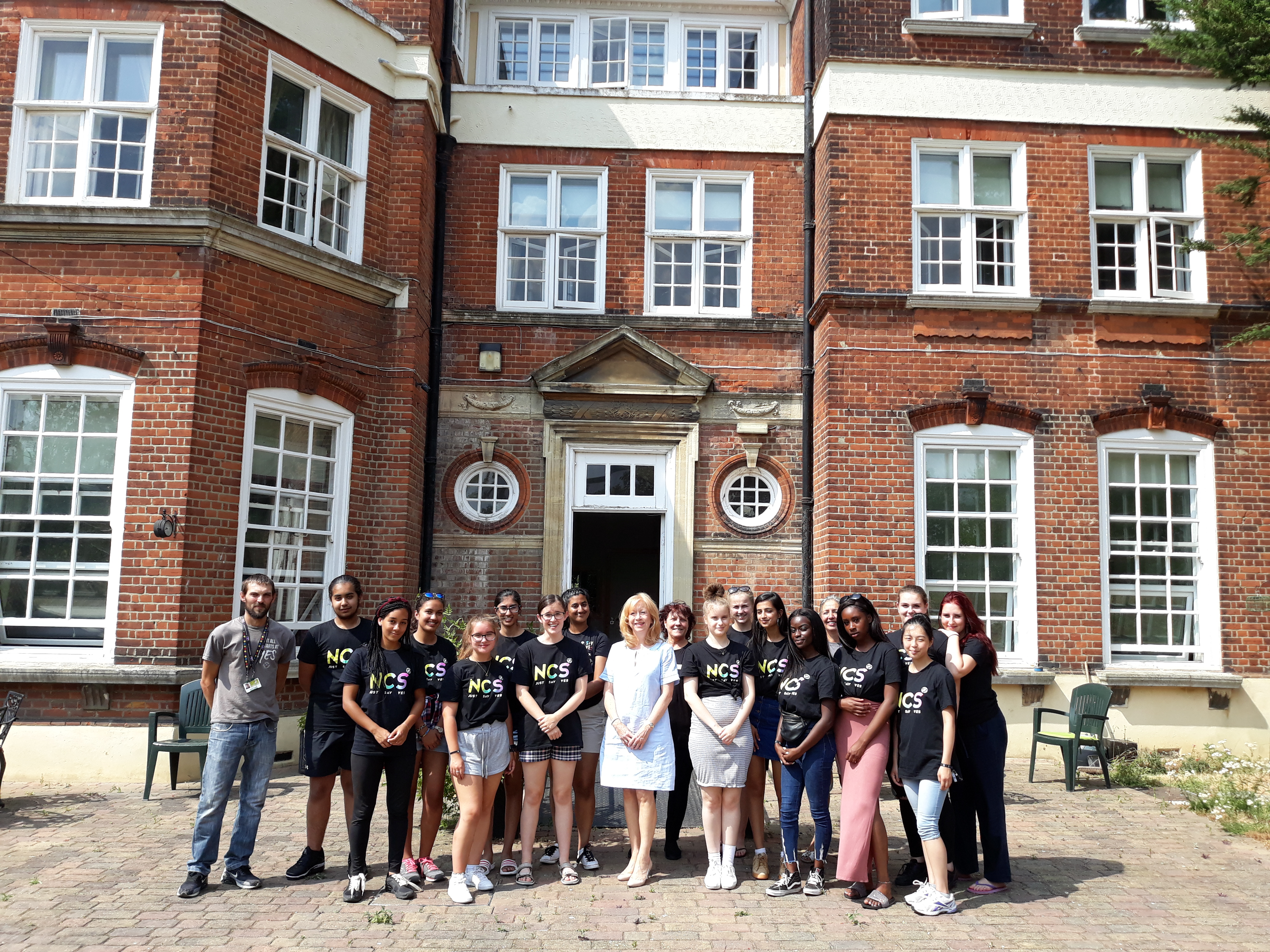 Young people from Epping and Harlow demonstrate their community spirit during their summer holidays with Hertfordshire County Council's youth service, YC Hertfordshire