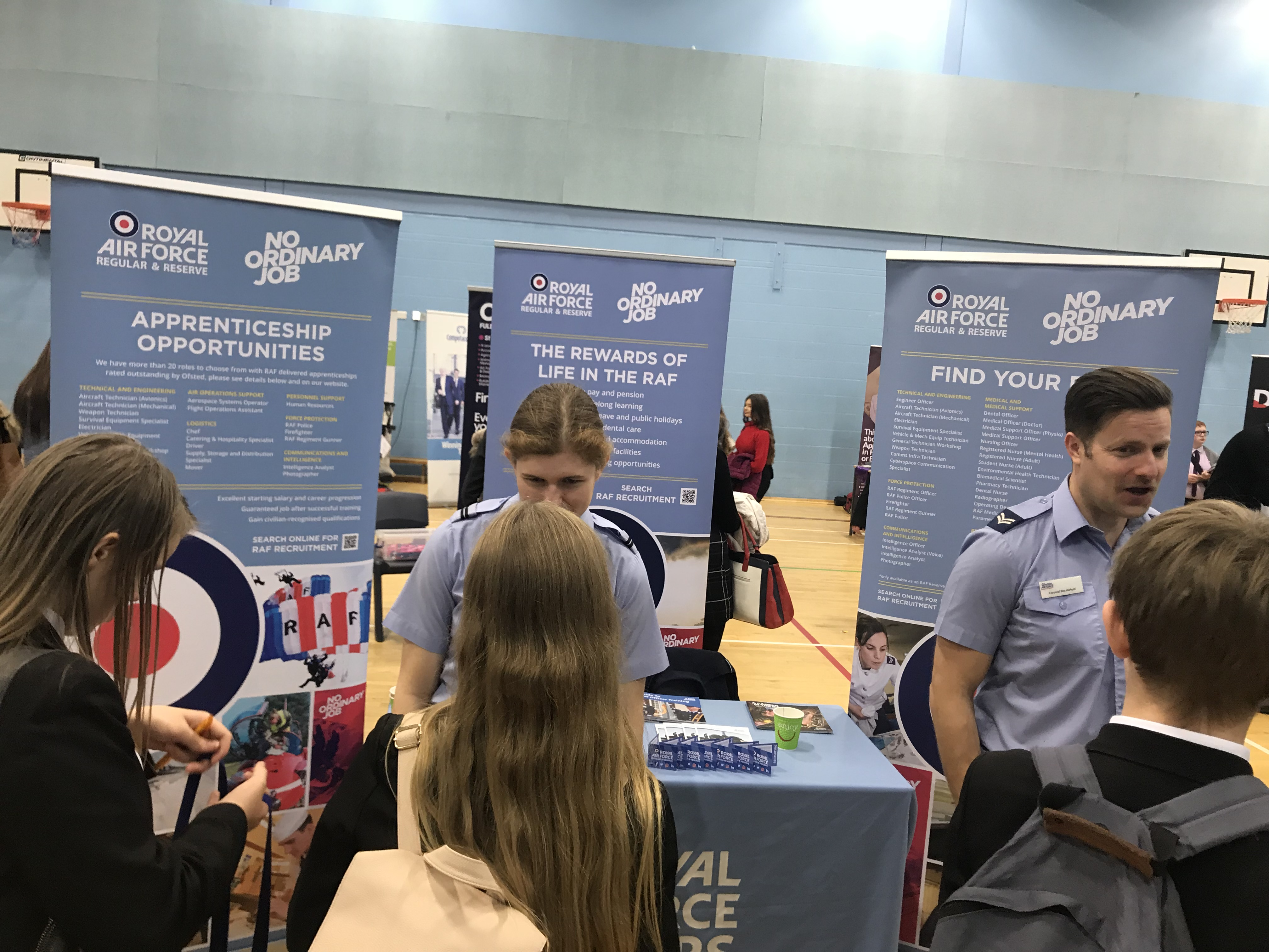 Marriotts School students explore their career options