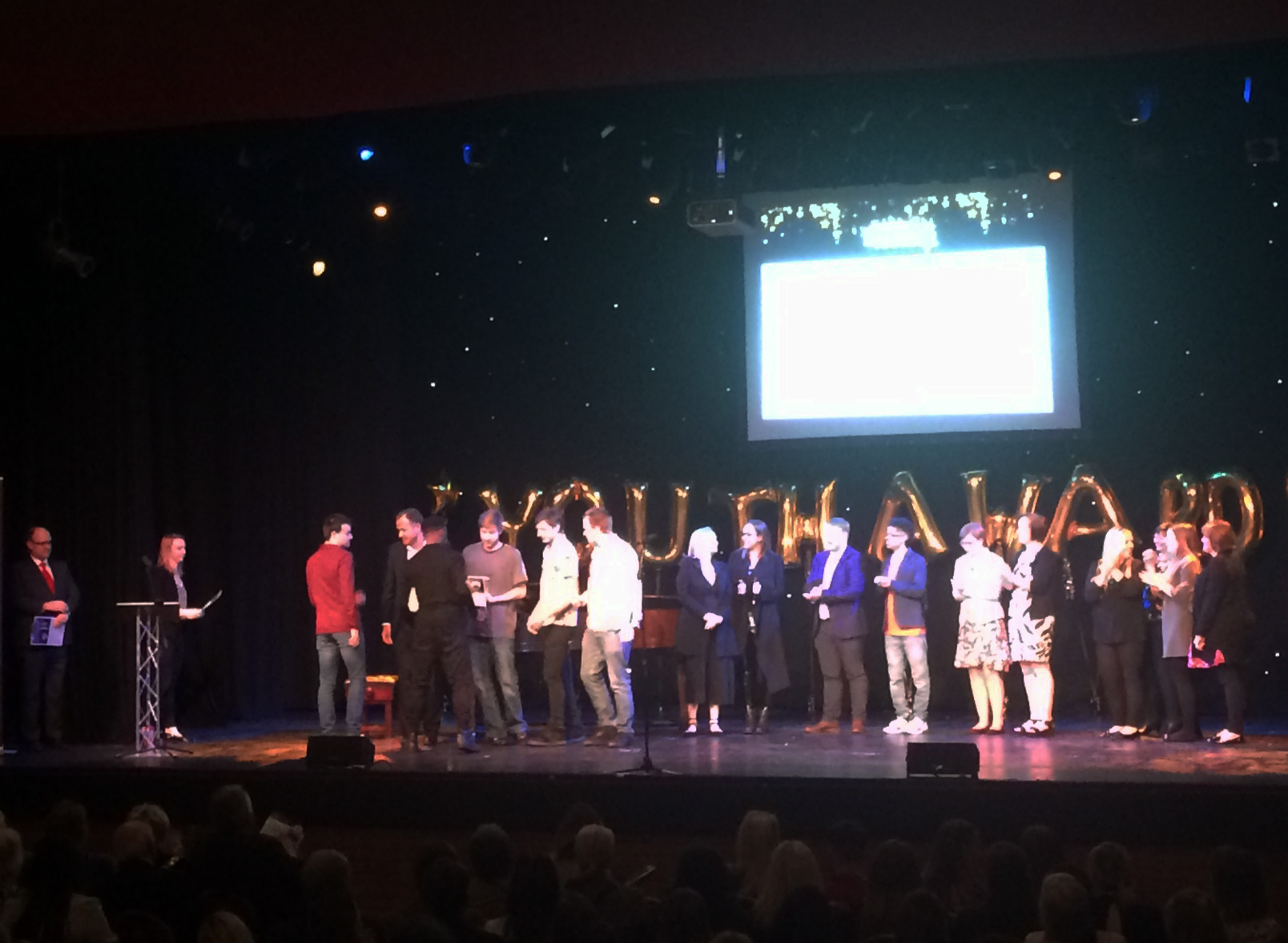 YC Hertfordshire Youth Work Projects & Young People Recognised at Broxbourne Youth Awards 2019