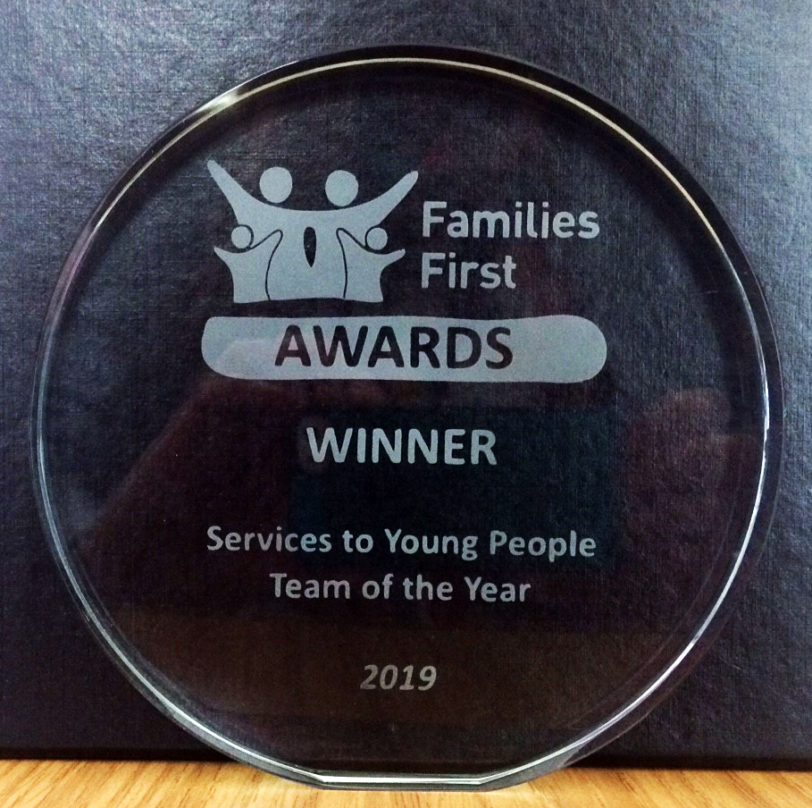 YC Hertfordshire Recognised At Families First Awards 2019
