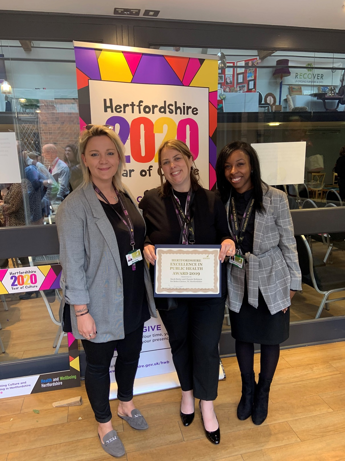 Youth Workers win Public Health Awards 2019
