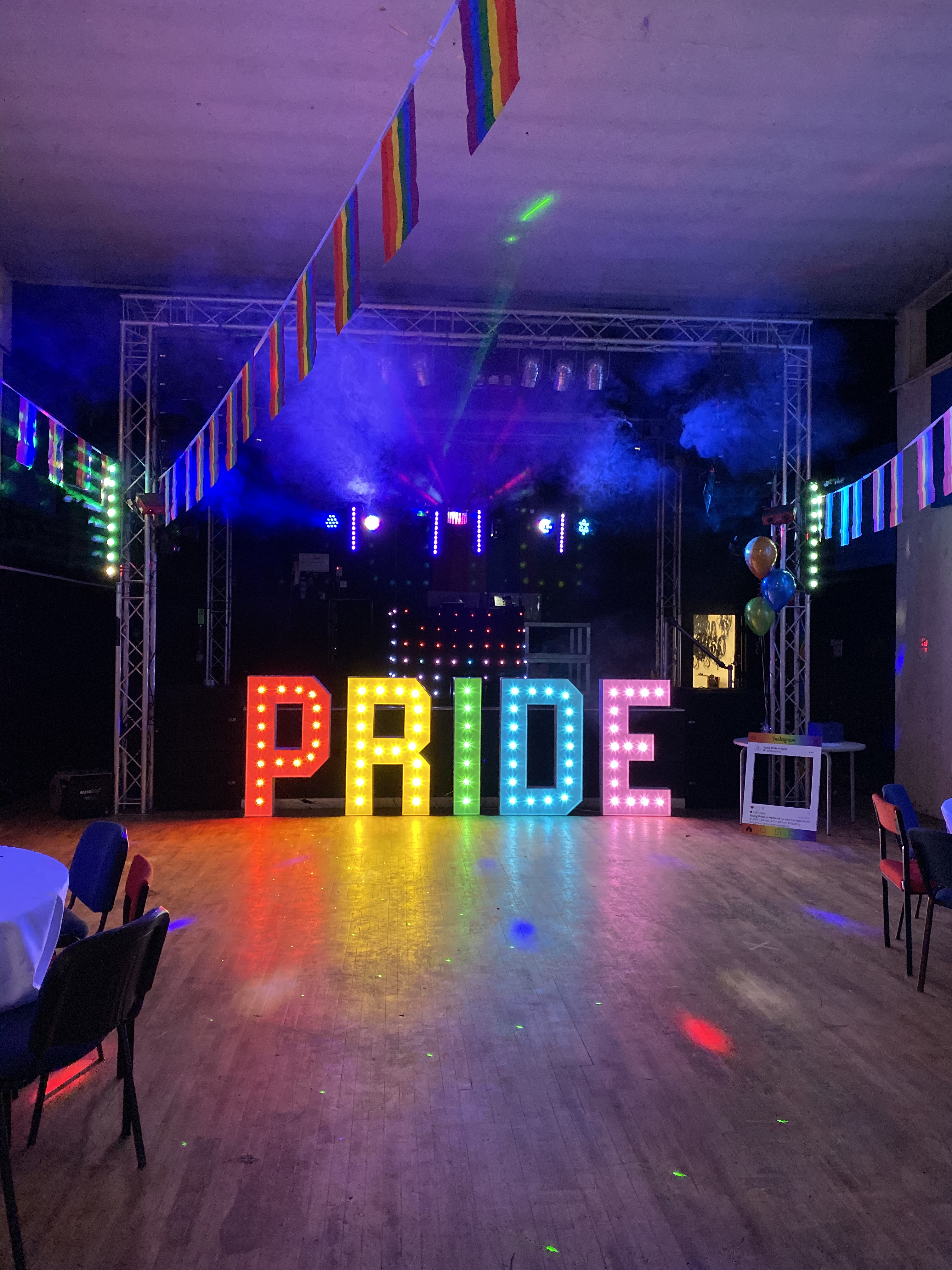 Young people enjoy Pride Prom