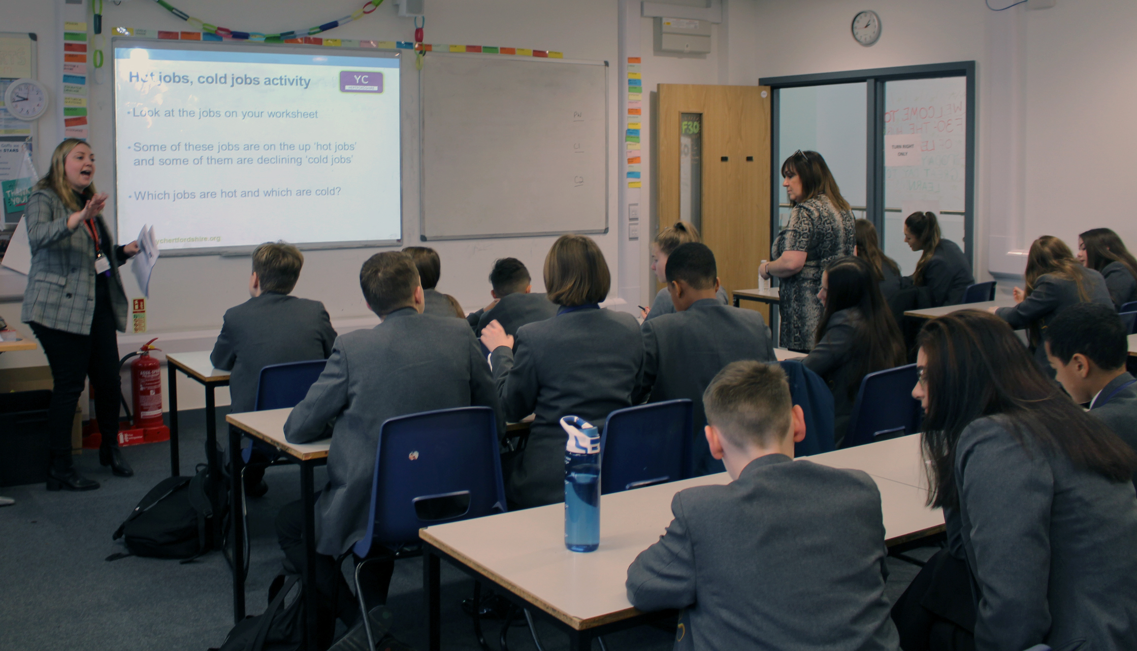 Year 8 students are challenged to think about how they will navigate their futures